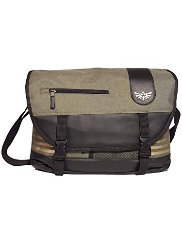 Nintendo Legend Of Zelda Elaborated Messenger Bag Umhängetasche 35 centimeters Mehrfarbig (Green)