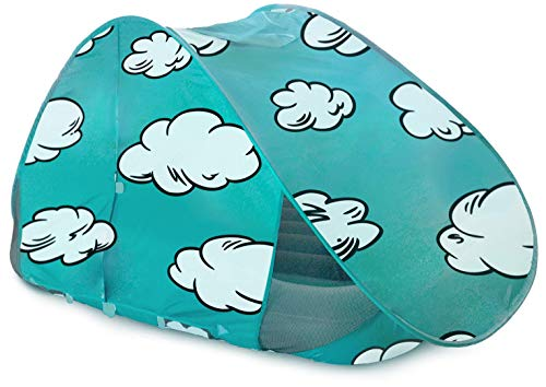 New The Shrunks Indoor Play Tent for Shrunks Toddler Bed, Teal (Renewed)