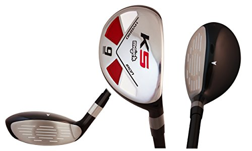 Majek Golf Senior Lady #9 Hybrid Lady Flex Right Handed New Utility L Flex Club