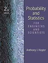 Probability and Statistics for Engineers and Scientists:2nd (Second) edition