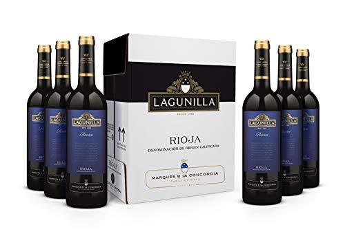 Caja de Lagunilla Reserva Vino Tinto Reserva D.O Rioja - 6 botellas x 750 ml. - 4500 ml