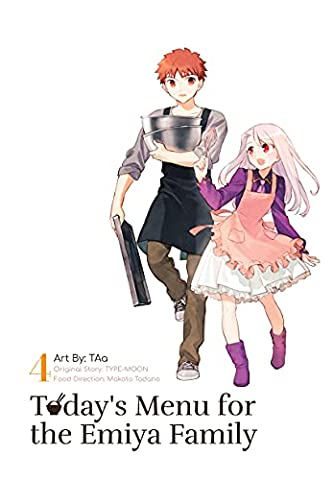 Today's Menu for the Emiya Family, Volume 4 (Fate/)