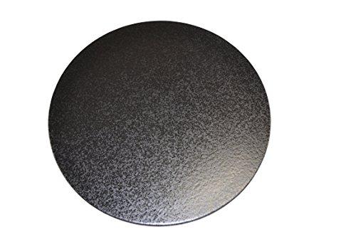 Pizzastein, Heißer Stein, Grillstein aus glasiertem Cordierit 410x12mm