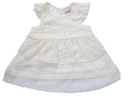 Little Lass - Robe - Tunique - Bébé (fille) 0 à 24 mois blanc blanc 2 ans