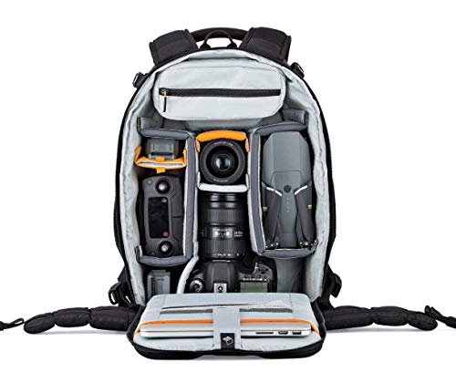 Lowepro LP37129, Flipside 400 AW II Camera Backpack, Camera Accessories, for DSLR, CSC, Mirrorless, 15 Inch Laptop, Tablet, Additional Lenses, Black