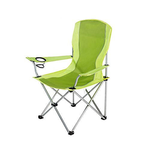 Basic Mesh Camp Chaise avec porte-gobelet pliable Siège Extérieur Camping Pique-randonnée
