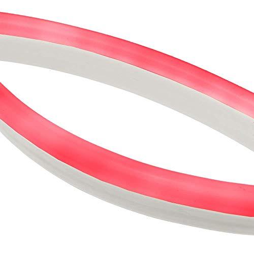 Cablematic - Flexible 24x14mm néon LED LNF 80LED/m 10m 220VAC rouge