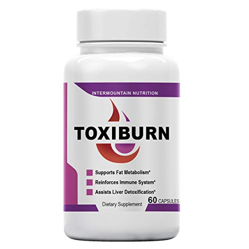 Toxiburn, Toxiburn Weight Management Pill, Support Fat Metabolism, Reinforces Immune System, The Official Brand Dietary Supplement