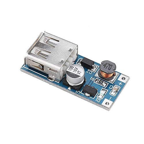Módulo electrónico DC-DC 0.9V-5V 5V a 600mA USB Boost de hasta Paso de alimentación Módulo de Control PFM Mini Móvil elevadores 3pcs Equipo electrónico de alta precisión