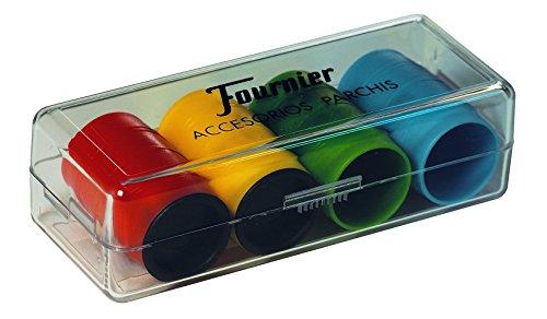 Fournier- Accesorios PARCHIS (4 Jugadores) (F06513)