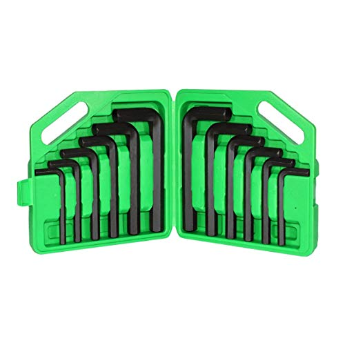 Grip JUMBO Hex Keys - 12-Pc. Set, SAE and Metric