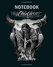 Notebook: david gonzales art chiefin - 50 sheets, 100 pages - 8 x 10 inches