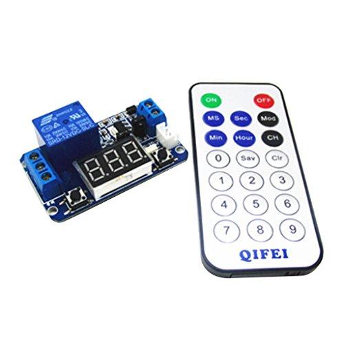 yotijar Interruptor de Relé de Control de Tiempo de Retardo Digital Automático con Pantalla LED