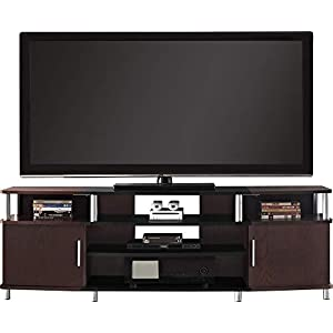 """Ameriwood Home Carson TV Stand for TVs up to 70"""" Wide (Cherry)"""