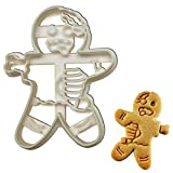 Zombie - Molde para galletas con forma de hombre de jengibre, 1 pieza