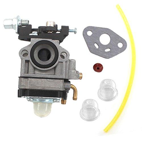 AISEN 11mm Carburateur avec Schlauch Poire d'amorçage pour Taille-haie et Débroussailleuse Redmax 22cc 23cc 24cc 25cc 26cc 33cc 35cc 36cc WALBRO