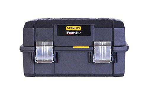 Stanley FatMax Cantilever Werkzeugbox (18 Zoll, 46 x 32 x 24 cm, Koffer für Werkzeuge, Box mit...