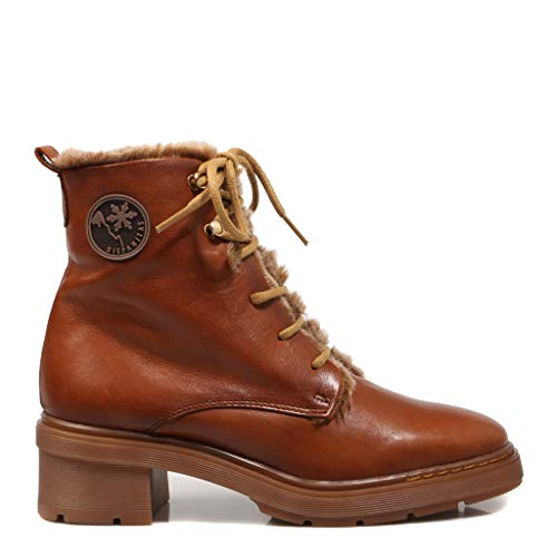 Hispanitas 99509 Damen-Stiefel, Braun, Brown - braun - Größe: 37 EU