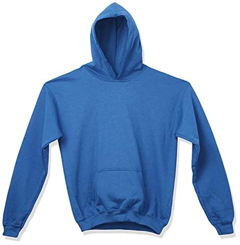 Gildan Youth Hooded Sweatshirt, Style G18500B, Royal, Large