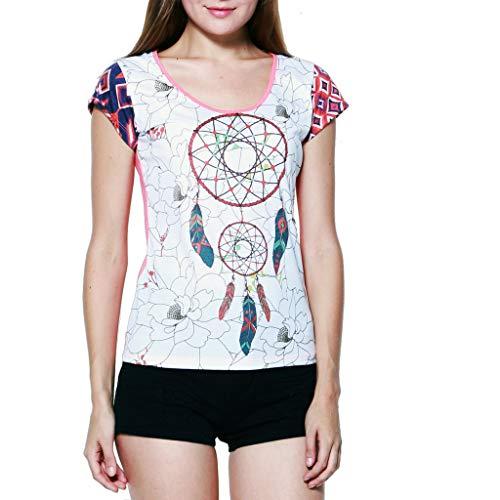 PANASIAM T-shirt, Dreamcatcher', van heel freshrunk katoen, in S, M en L, vintage stijl!
