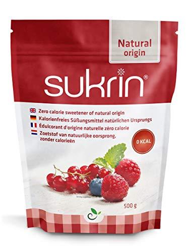 Sukrin Granulated All-natural Zero Calorie Wholesome Sweetener alternative to Sugar (500g)