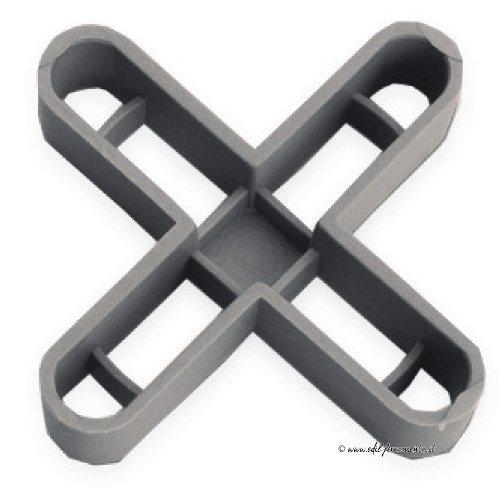 Rubi 2905 crucetas para Juntas, Gris, 10 mm, Set de 50 Piezas