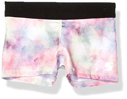 Soffe Girls' Big Dri Short, Soft Watercolor, Large