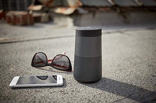 Bose SoundLink Revolve Diffusore Portatile, con Bluetooth, copertura a 360°, Nero
