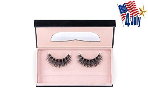 "LUCINE LASHES MINK COLLECTION - Style ""Bia"" - Reusable False Eyelashes - Premium Quality - 100% Handmade"