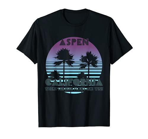 Donde la cerveza fluye como vino Aspen California Beber Camiseta