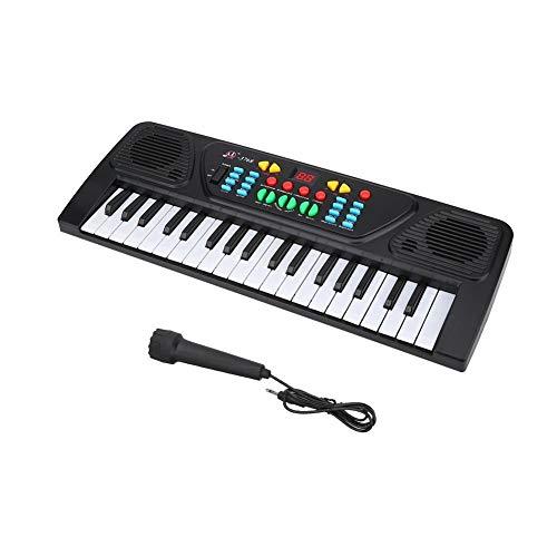 Keyboard Kinder ab 8 Jahre, Unibell 37 Schlüssel Multifunktionale elektronische Keyboard Musikerziehung Spielzeug for Kinder Anfänger Kinder Klavier