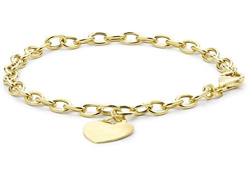 Carissima Gold Damen - Armband 375 Gold Rundschliff Diamant 1.24.3591