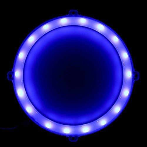 Blinngo Cornhole LED Lights, Ultra Bright Standard Cornhole Night Light for Family Backyard Bean Bag Toss Cornhole Game, Four Color Options, Long-Lasting Over 72 Hours, 2 Set (Blue)