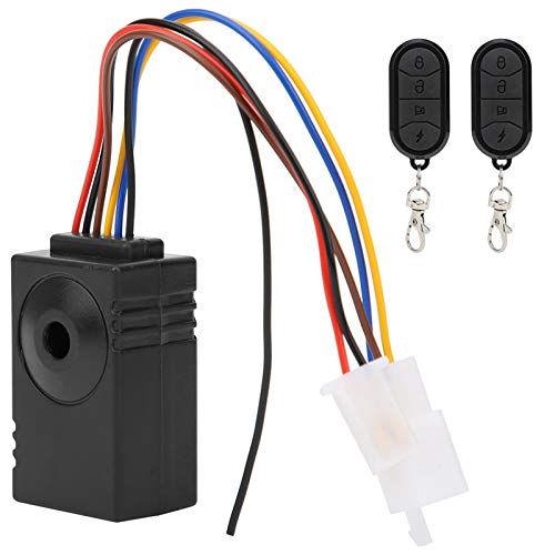 Alarma a prueba de agua Alarma antirrobo Función de emergencia Bocina envolvente de seis sonidos Alarma de triciclo eléctrico antideslizante Agarre para vehículos eléctricos plegables