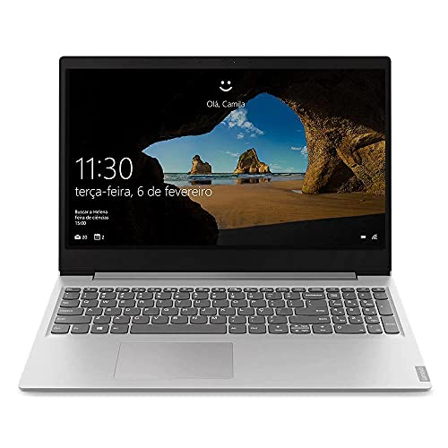 "Notebook Lenovo Ultrafino ideapad S145 i5-1035G1 8GB 256GB SSD Windows 10 15.6"" 82DJ0003BR Prata"