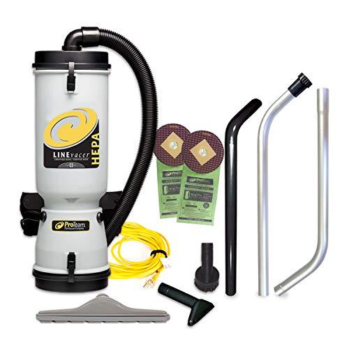ProTeam LineVacer HEPA Vacuums, 10 Quart,...