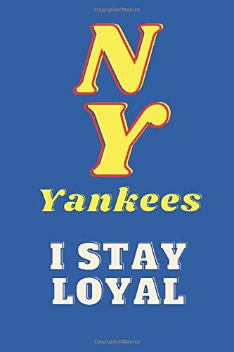 NEW YORK YANKEES: Yankee Souvenirs Notebook Journal - Yankees Gift for Boys Women men Girls Kids - new york Yankees baseball
