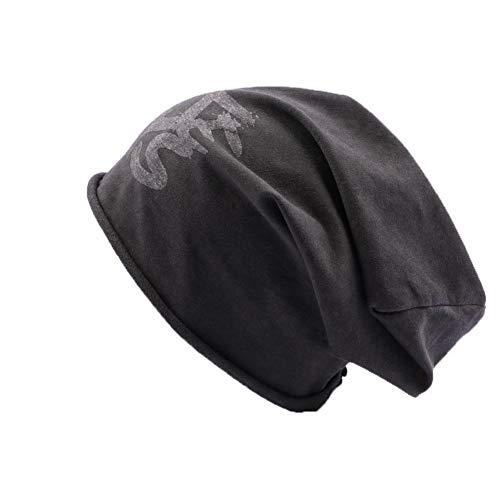 JBB COUTURE Bonnet Oversize Noir - Mixte