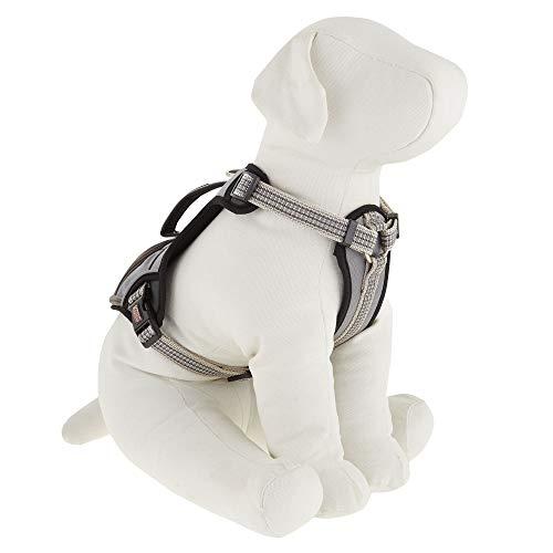 Dog Harness Kong Reflective Pocket Large Gray