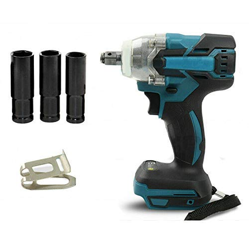 18V Cordless Impact Wrench Drill Brushless Drill + NUTS (Battery Not Included)