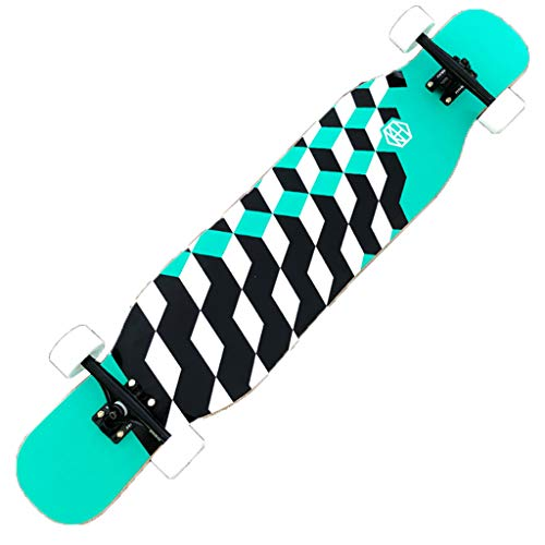 Lowest Price! YQQ-MOTION Skateboard Freestyle Longboard Skateboard 46 Inchesx9.4 Inches Outdoor Recr...