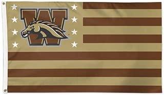 WinCraft Western Michigan Broncos NCAA American Flag 3 x 5 Foot