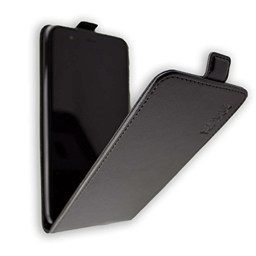 caseroxx Hülle für das Gigaset GS270, Taschen in verschiedenen Varianten (Flipcase, TPU-Bumper & Bookstyle) & (Flip-Tasche, schwarz)