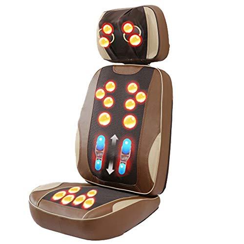 CGBF-Seduta Massaggiante Massage Pad Mat, Vibrante di Calore per Il Sollievo dal Dolore, Multifunzionale Impastamento di Massaggio Dell'ammortizzatore per La Casa/Auto/Ufficio