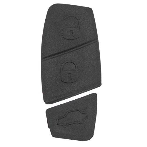 GOZAR 3 Knoppen Vervanging Afstandsbediening Sleutelschelp Button Pad voor Fiat Punto Panda Stilo