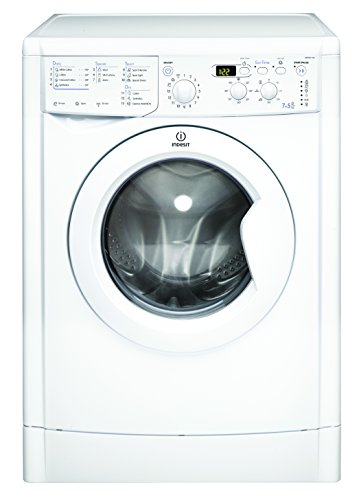 Indesit IWDD7143 B Rated Freestanding Washer Dryer - White