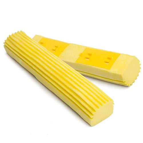 Pinhan Cabezal de esponja absorbente plegable de espuma de repuesto para fregona...