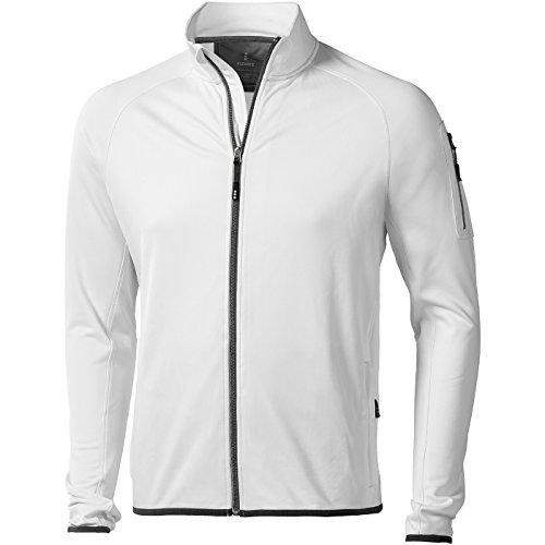 ELEVATE - Homme Power Fleece Mani - Blanc, L
