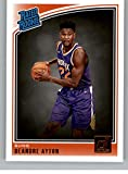 2018-19 Donruss Basketball Card #157 Deandre Ayton Rated Rookie RC Rookie Card Phoenix Suns Official Panini NBA Trading Card. rookie card picture