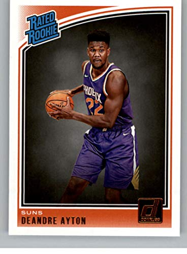 2018-19 Donruss Basketball Card #157 Deandre Ayton Rated Rookie RC Rookie Card Phoenix Suns Official Panini NBA Trading Card